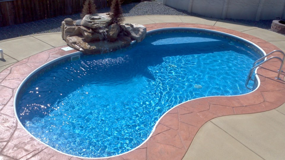Sango pool spa the backyard place clarksville tn - Above ground swimming pool rental ...
